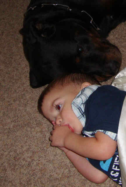 Ethan and Diesel 031